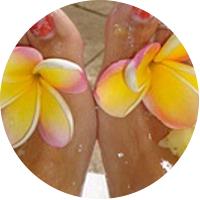 Pineapple Pedicure