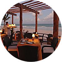 Romantic Seaside Dinner Splurge
