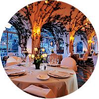 Dinner at La Sponda, Positano