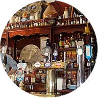 Bar hopping in Edinburgh