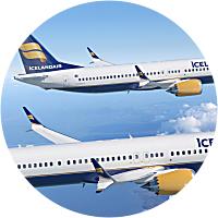 Flight to Reykjavik & Airport Transfers