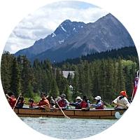 Voyageur Canoe Tour