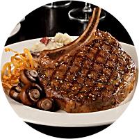 Romantic Steak Dinner