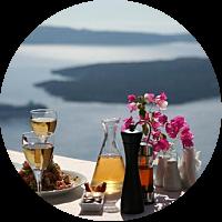 A Romantic Greek Dinner