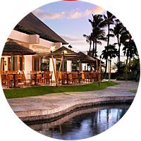 Romantic Dinner at the Black Rock Restaurant in Maui