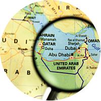 Flight to Dubai