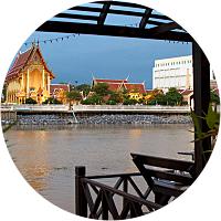 Dinner at Baan Khun Phra