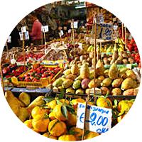 Private tour of the markets of La Vucciria and Ballaro