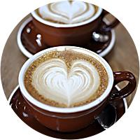 Coffee, pretty much always