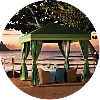 Romantic Beachfront Dinner for Two