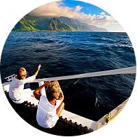 Tour (Sea): NaPali Sunset Cruise Dinner
