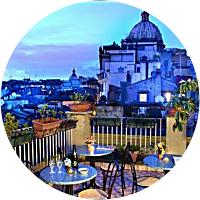 Romantic Dinner in Rome