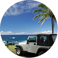 1 Rental Car in Hawaii