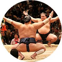 Sumo Tournament in Tokyo