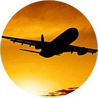 Flight to New Zealand