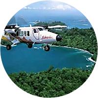 Flight to Osa Peninsula