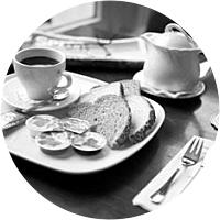 Two Breakfasts in Amsterdam