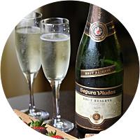 Indulge: Champagne & Strawberries