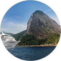 Cruise Day 2 -Cruise the coast of Brazil