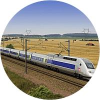TGV from Paris to Milan