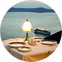 Cena romantica / A sunset dinner