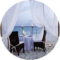 Moonlit Dinner on the Beach