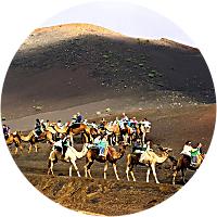 Fire Mountain & Camel Rides