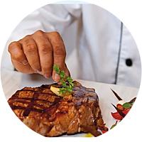 Romantic Steakhouse Getaway