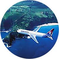 Round trip flights to Hawaii