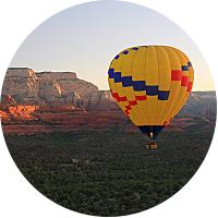 Sedona hot air balloon ride