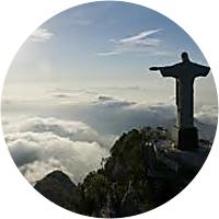 The Famous Statue above Rio