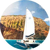 Na Pali Snorkel Picnic Sail  ($159 per gift)