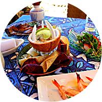 Dinner at Mamas Fish House