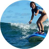 2 hour Basic Beginner Surf Lesson