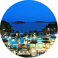 Honeymoon on the island of Hvar