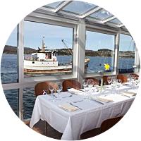 Boat trip to Cornelius including dinner