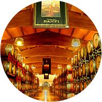 Wine tasting dinner at Castello Banfi