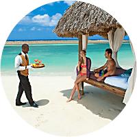 Private Beach Cabana Rental