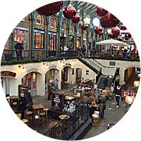 Food Stalls in Covent Garden Market
