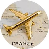 Airfare: Paris (France) - Madrid (Spain) - Nice (France)