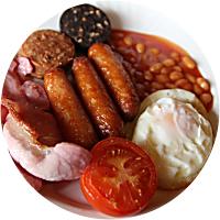 Full Irish Breakfast--for two!
