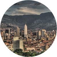 First night in Medellin
