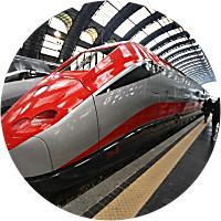 Train Ride from Frankfurt to Paris