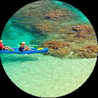 Kayak and Snorkeling Trip Around Hanalei Bay!
