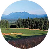 Golf at Snoqualmie Ridge
