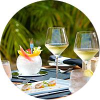 Gourmet dinner for 2 in Honolulu