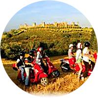 Tuscany Vespa Tour