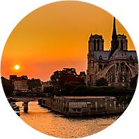 Sunset Seine River Cruise