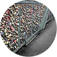 """LOVE LOCK"" BRIDGE"