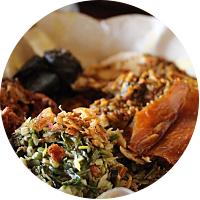 Eat Babi Guling at Ibu Oka in Ubud
